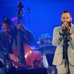 PARIS, FRANCE - APRIL 30: (L-R) James Genus and Avishai Cohen perform on stage during the International Jazz Day 2015 Global Concert at UNESCO on April 30, 2015 in Paris, France. (Photo by Kristy Sparow/Getty Images for Thelonious Monk Institute of Jazz)