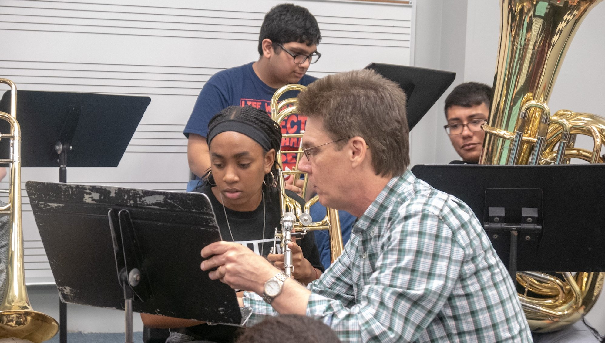 Dr Jb Dyas Teaching At Kinder Hspva In Houston 9 18 Copy 2 Hancock Institute Of Jazz